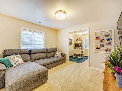 Photo for NEW LISTING Beautiful, New, Quiet - Discount 900 sq ft, 5 min to 1-15, Ski  shop