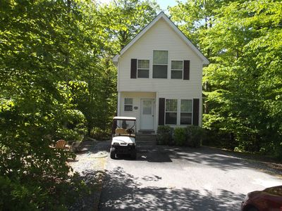 Photo for Point Sebago Resort Home, Sandy Beaches & Golf