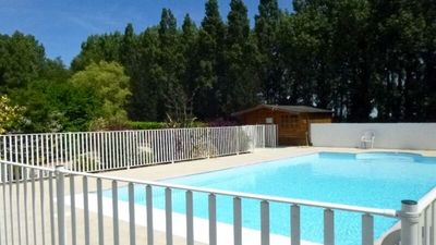 Photo for Beautiful 1 Bedroom Apartment In Pluertuit with outdoor heated pool