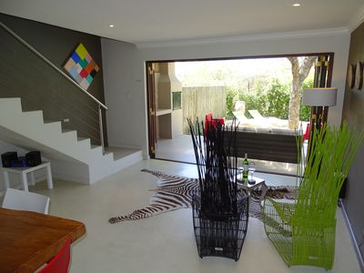 Photo for Modern, high quality holiday home, sleeps up to 6, private pool, Kruger area