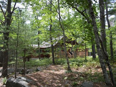 Photo for Delightful Log Home in Quiet Location