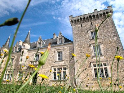 Photo for Gorgeous Chateau with Fabulous Interiors and Heated Pool. Sleeps up to 26