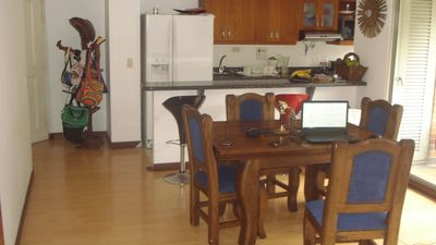 Photo for Room with Bunk bed in a three bedroom (gated community) in Laureles, Medellin.