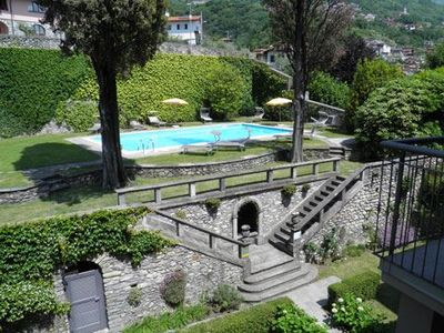 Photo for 3-room holiday apartment Cedro 104 just a short walk away from the lake, with large pool