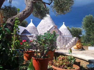 Photo for Anna's Trullo with Swimming Pool September OFFER still summer