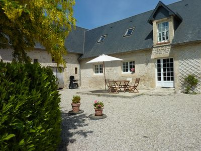 Photo for The calm of the countryside close to the beaches and the historic town of Bayeux