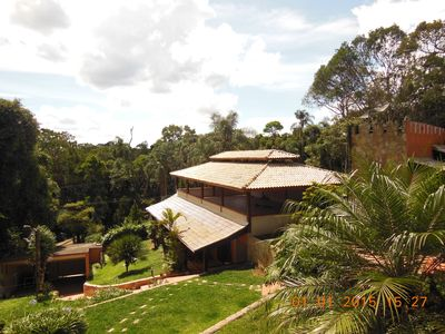 Photo for Chacara beautiful c / 3 Baths + BBQ + Pool and Reception Hall