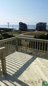 Photo for OBX Fin&Tonic 3BR/2BA House 2nd row Sound & 3rd row Ocean Views