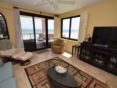 Photo for Broadmoor 205 - Amazing Gulf Front with picturesque views, Fall prices available now!