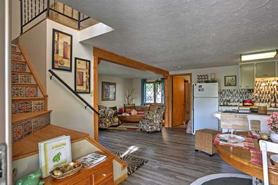 The well-appointed home has everything you need for a comfortable stay.