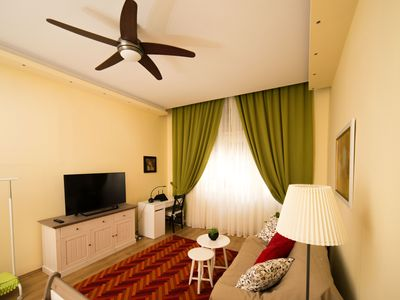 Photo for Ultra Central Apartment In Historical Building With Balcony