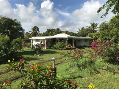 Photo for Spacious Creole villa in a large park