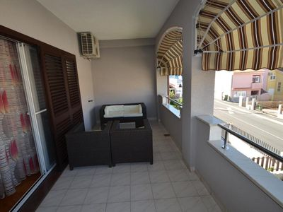 Photo for Two bedroom apartment with terrace Zadar (A-16336-c)
