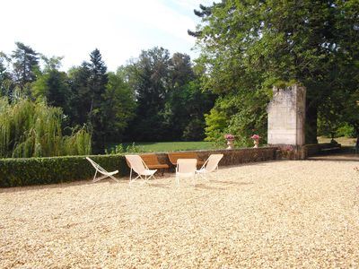 Photo for 17th Century castle with all mod cons, furnished, in a 23 acres of mature garden