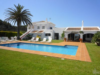 Photo for 5 bedroom Villa, sleeps 10 in Fornells with Pool, Air Con and WiFi
