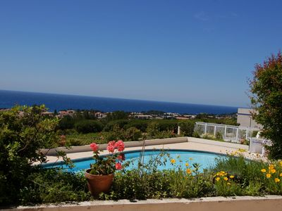 Photo for 3 Rooms Apartment 65 m² + Terrace 28 m². 4 Sleeps. Residence with Pool