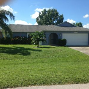 Photo for Pool house in Cape Coral, 3br/2bath available also May-December 1-7 months.