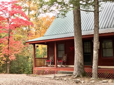 Photo for ★Honeymooners! ★Couples! Quiet retreat in the woods. Close to Pigeon Forge. WIFI