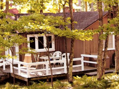 Photo for August Weeks Available! Little St Germain Lake Cabin