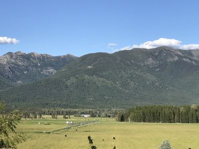 Photo for A NEW view of the Swan Mountain Range ready to greet you.....Bigfork Montana!