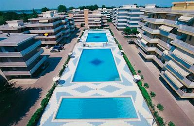 Photo for Residence Valbella with swimming pools, soccer field, tennis court, garden