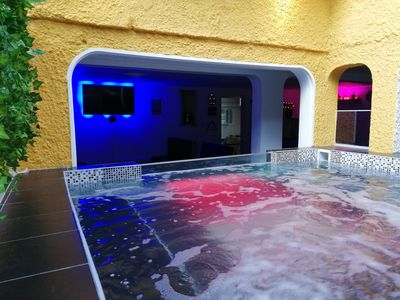 Photo for Luxury home With excellent location Town, immense jacuzzi capacity 15 pax