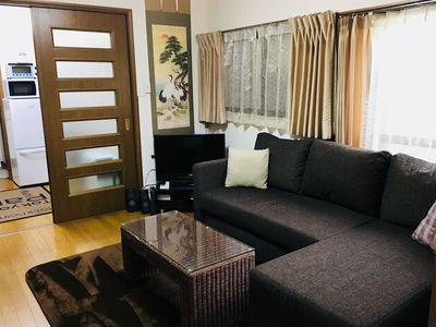 Photo for Grand Central location! Meiji House, 3Rm-8guests,2min walk/Hiroo Stn,WIFI,Netflx