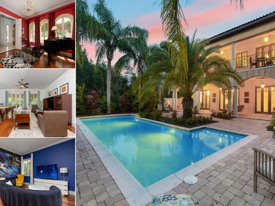Photo for Hidden Oasis | 4 Bedroom 3 Bath Private Pool Villa