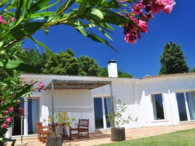 Photo for Holiday apartment in ideal surroundings, pool, roof terrace with panoramic view