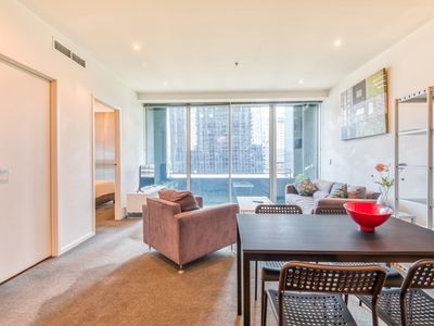 Photo for CBD, Collins St 2 bed, near Southern Cross with Gym, Pool & Spa
