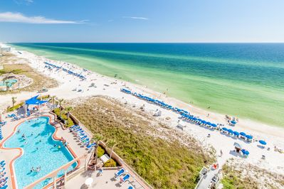 Your view of the pool and Gulf