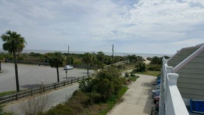 Walkway from the townhome over the dunes to the beach