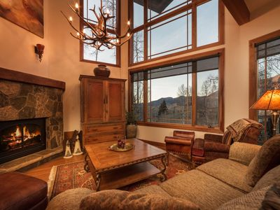 Photo for Two Ski Passes Included at this Luxurious Mountain Home with Stunning Views