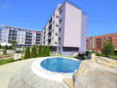 Photo for Rainbow 3 Resort - Family Apartment with pool view - Sunny Beach