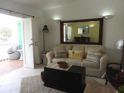 Photo for 1 bdrm condo with accordion doors Sunset Crest, Holetown, St James, Barbados