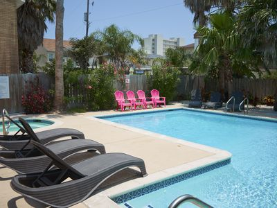 Photo for Casa Mezquite A - Awesome 2 Bedroom Condo, Walk to the Beach -  PadreVacation