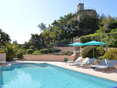 Photo for Boutique Villa in Sainte-Maxime with Pool