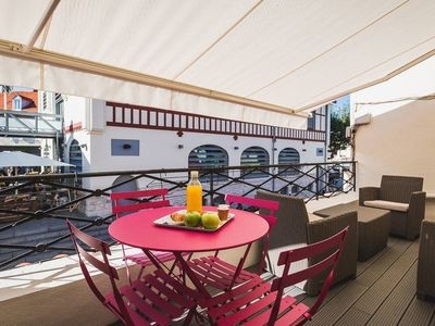 Photo for Design Apartment with Terrace and Parking near Biarritz markets