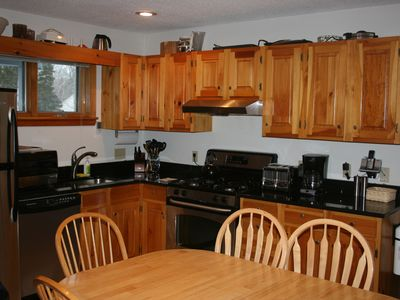 Photo for On-mountain condo  Bright,updated kitchen with brand new stainless appliances.