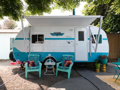 Photo for Retro RV by the Sea- Have a Vintage Vacation!
