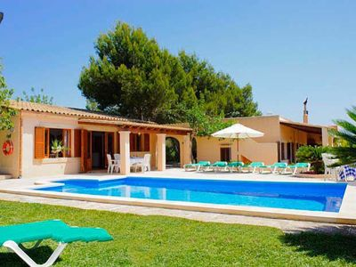Photo for 5 bedroom Villa, sleeps 10 in Cala Barca with Pool, Air Con and WiFi