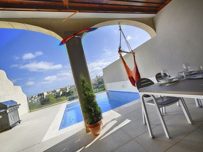 Photo for Three bedroom, luxury apartment with private pool