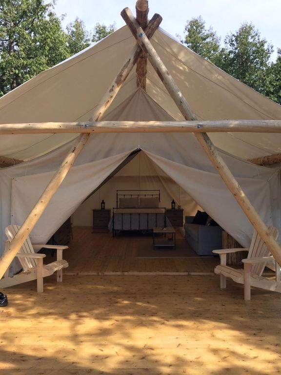 Waterfront Luxury Gl&ing Retreat...a high-end tented wine safari! & Waterfront Luxury Glamping Retreat...a high-end tented wine safari ...