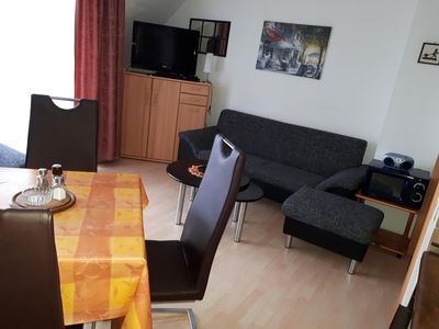 Photo for Family friend Apartment, 150 m to the sea in ruh. Able, pets willk., Dog beach