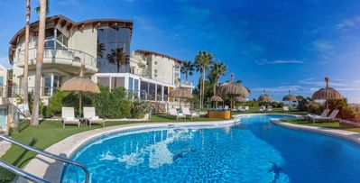 Photo for El Cid-Los Flamingos, Marbella area, with indoor & outdoor pools, 3 jacuzzis