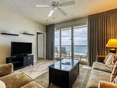 Photo for Serene gulf view home with secluded patio, shared pool and onsite amenities
