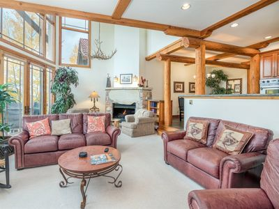 Photo for Gorgeous Mt. Wilson Views & Easy Ski In Ski Out Access from this Peaceful & Convenient Condo