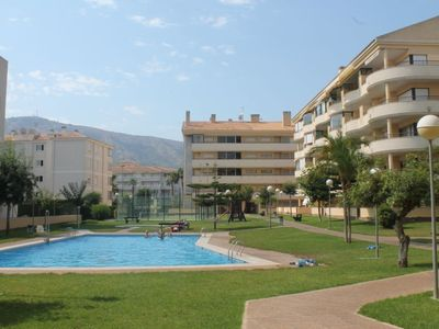 Photo for L'Albir Apartment, Sleeps 4 with Pool, Air Con and WiFi