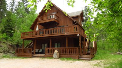 Photo for Moose Haven Secluded cabin 5 miles to Lake Pactola! Close to ATV Trails!