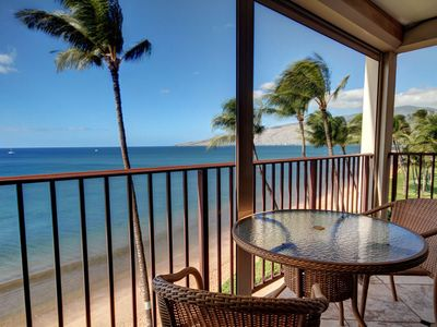 Photo for Gorgeous Remodeled Beach Front Condo! - Starting @ $199.00/nt - Kihei Beach #506